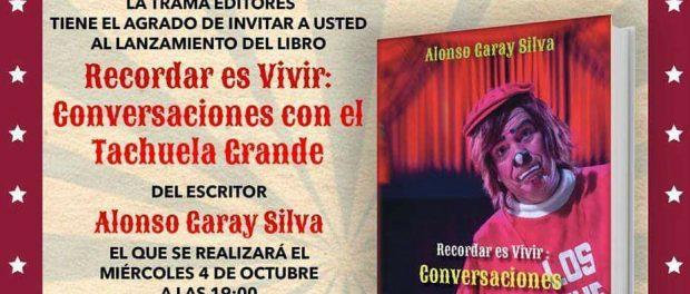 INVITACION A LIBRO RECORDAR ES VIVIR